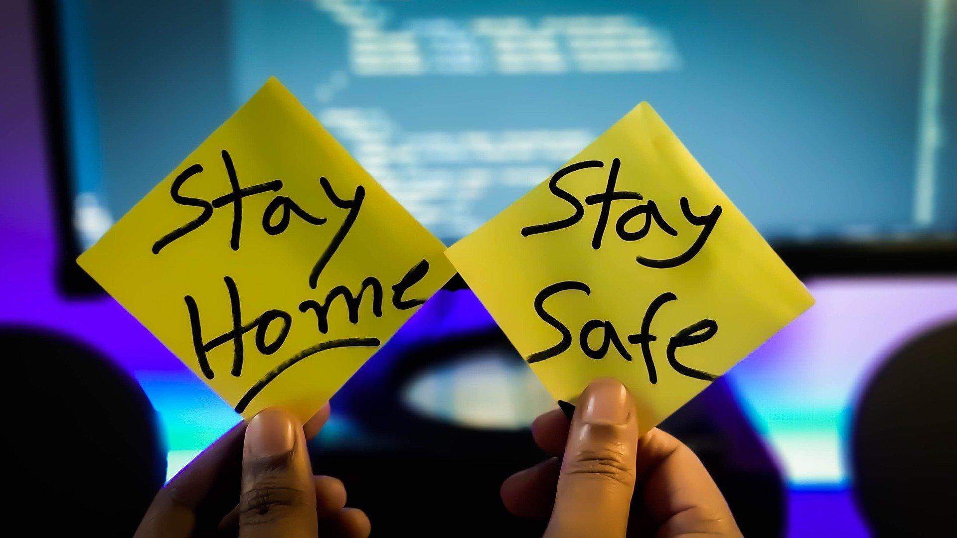 STAYHOME STAY SAFE